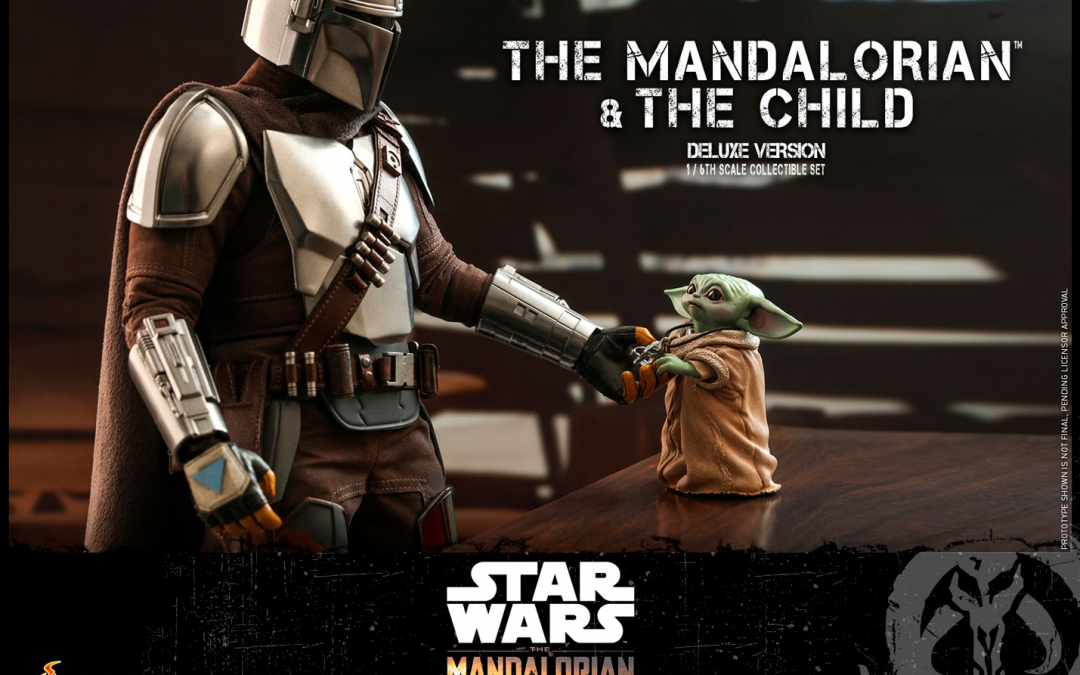 New Mando and The Child Deluxe Figure Set available for pre-order!
