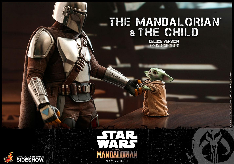 TM Mando and The Child Deluxe Figure Set 4