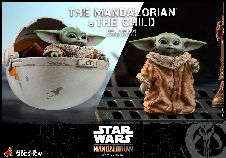 TM Mando and The Child Deluxe Figure Set 11