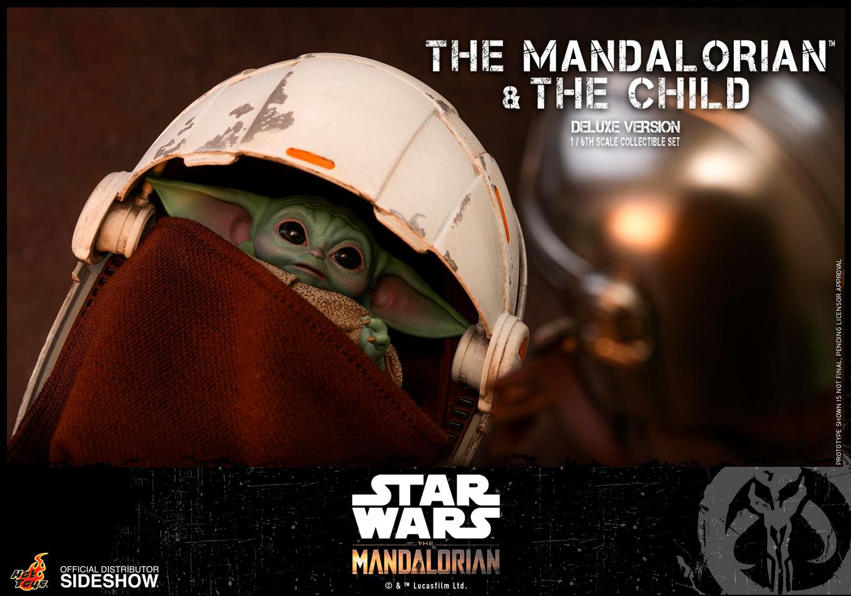 TM Mando and The Child Deluxe Figure Set 13