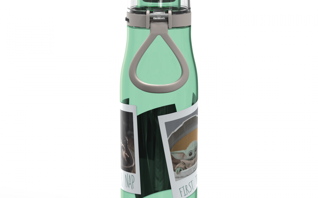 New The Mandalorian The Child Plastic Water Bottle in stock!