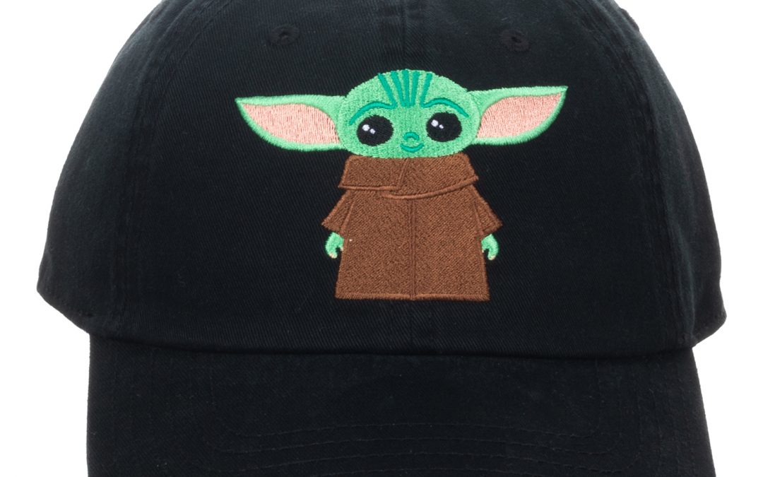 New The Mandalorian Baby Yoda (The Child) Black Hat in stock!