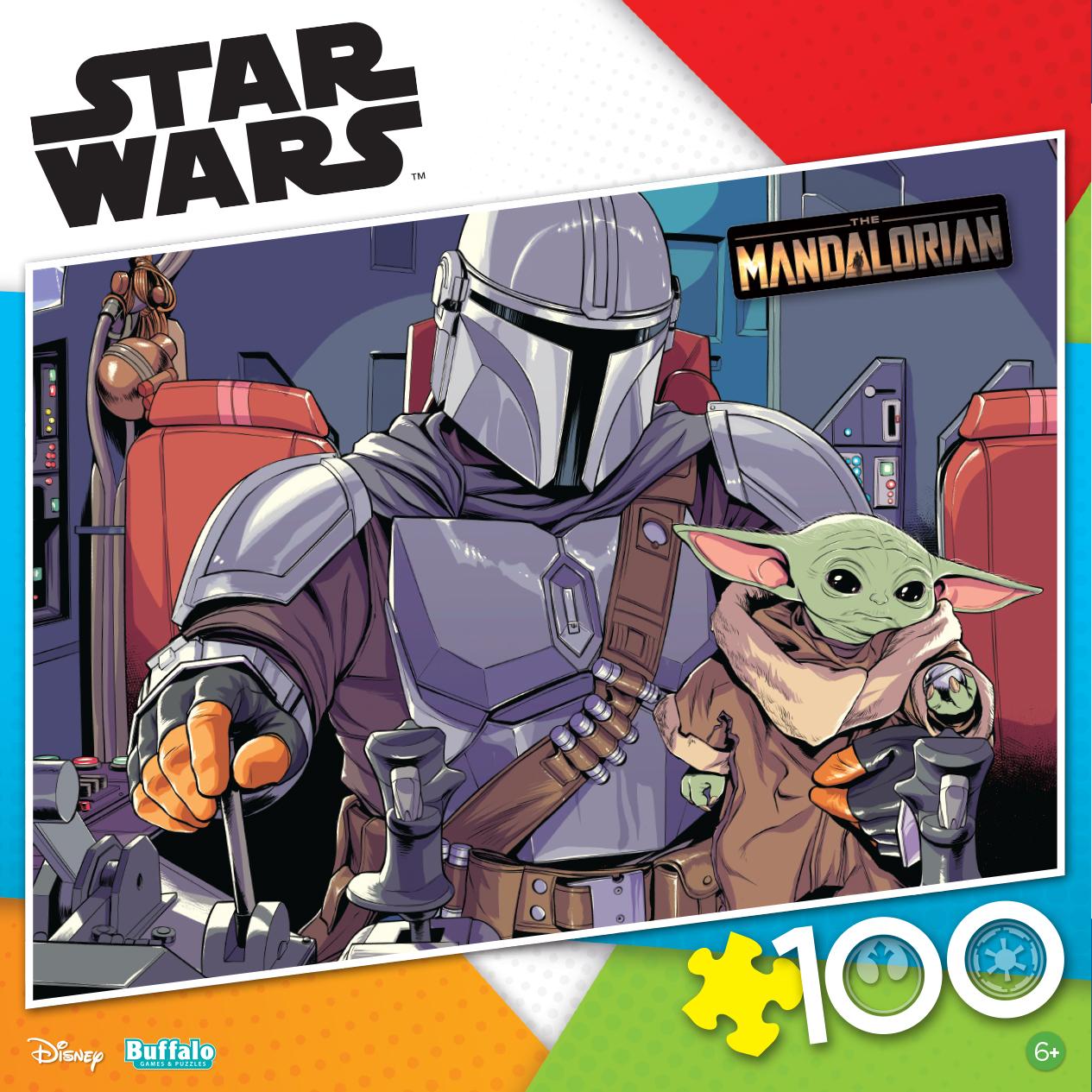 TM Mando and The Child 100 Piece Jigsaw Puzzle 1