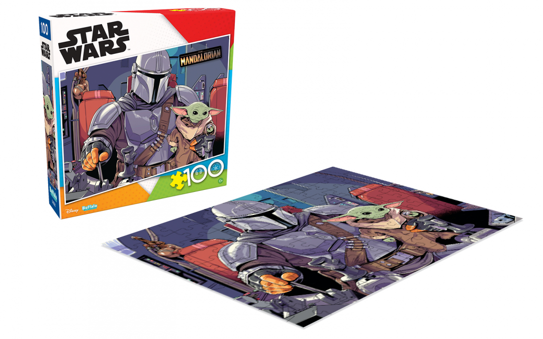 New Mando and The Child 100 Piece Jigsaw Puzzle available!