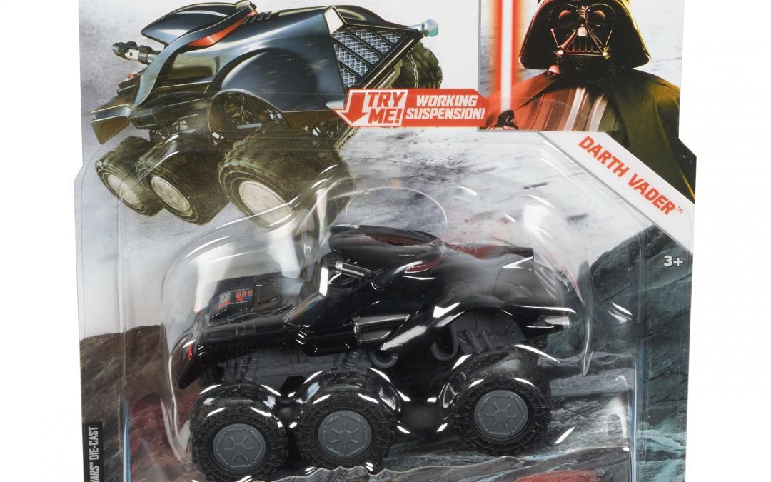 New Star Wars Darth Vader All Terrain Character Car available!