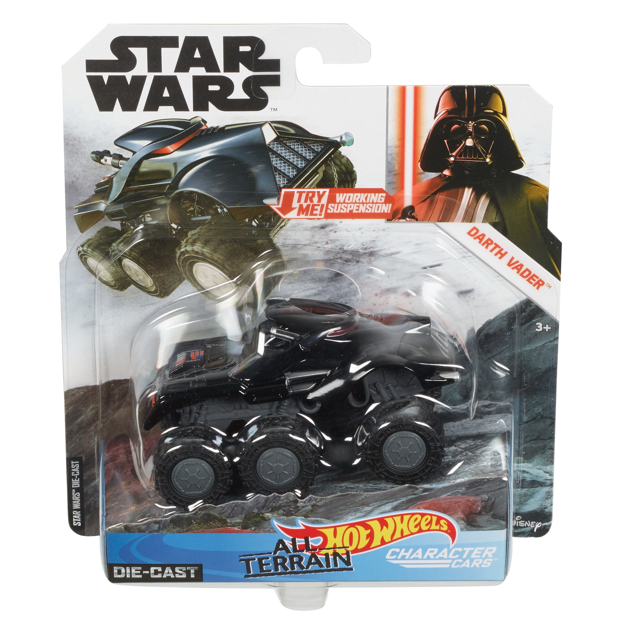 SW Darth Vader All Terrain Character Car Toy