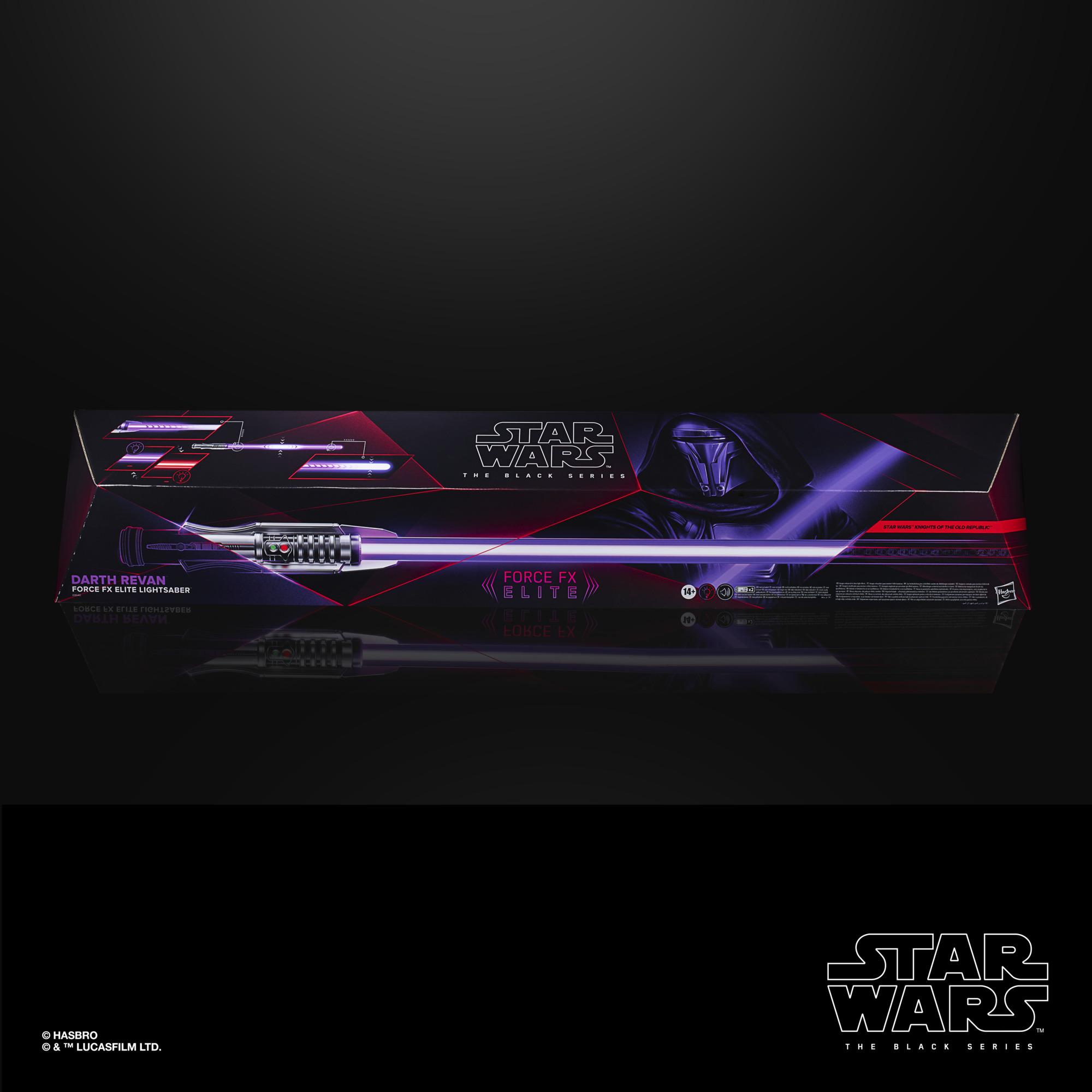 SW BS Darth Revan Force FX Elite Lightsaber 1