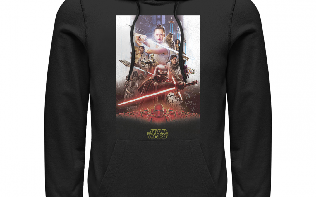 New Rise of Skywalker Men's Epic Poster Hoodie now available!