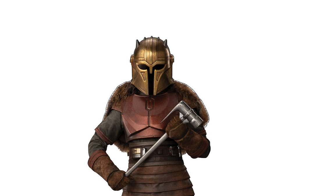New The Mandalorian The Armorer Cardboard Standee available!