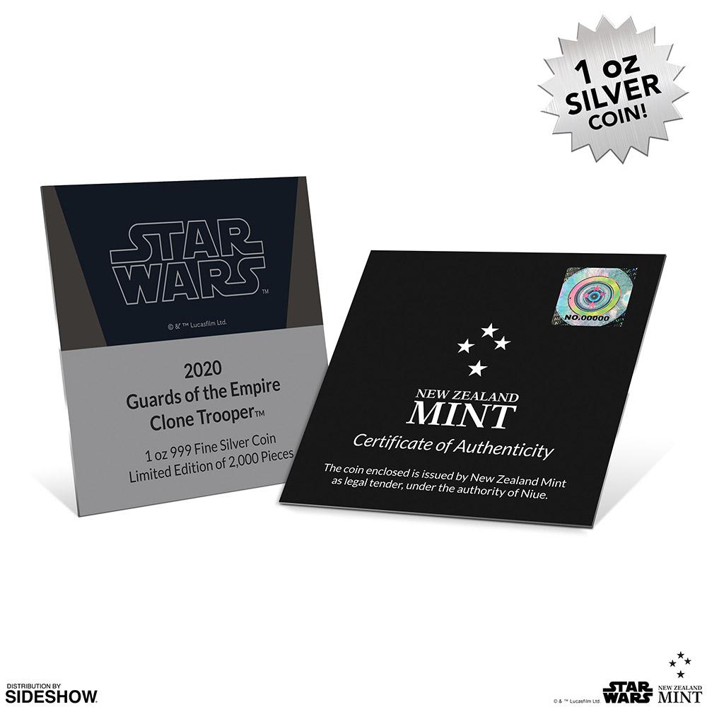 SW Clone Trooper Silver Coin 4