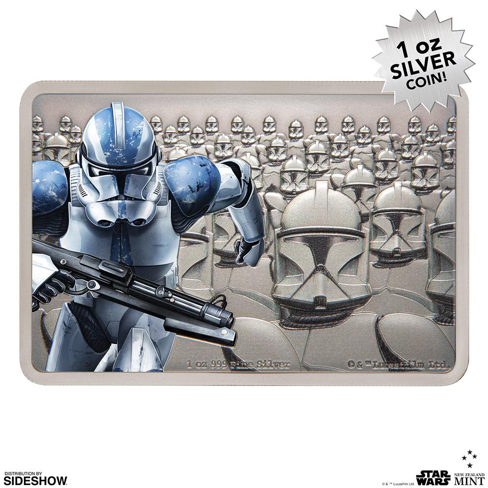 SW Clone Trooper Silver Coin 5