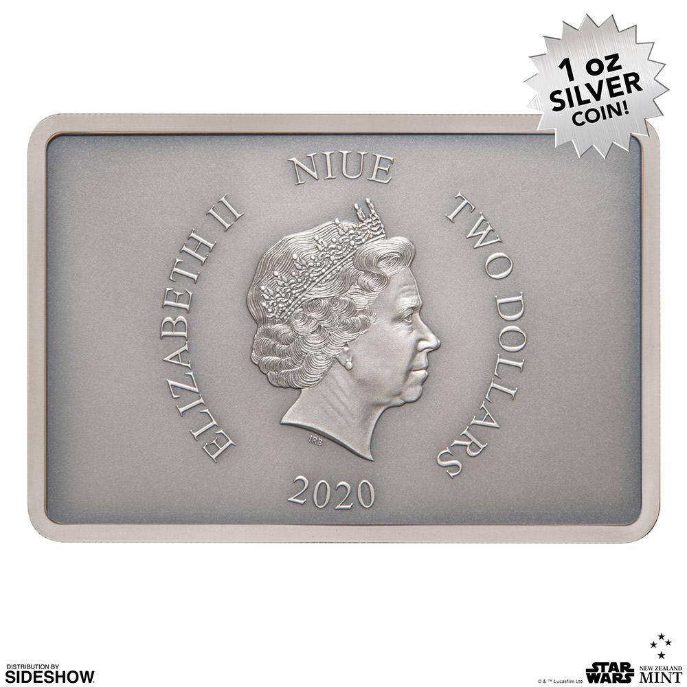 SW Clone Trooper Silver Coin 6