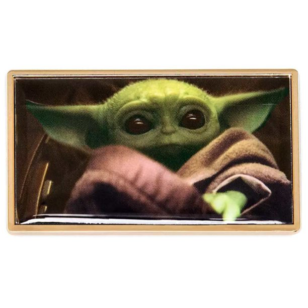 New The Mandalorian Baby Yoda (The Child) Pin available now!