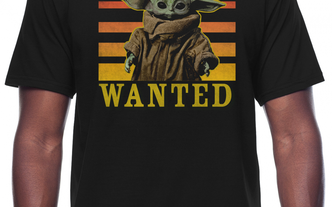 New The Mandalorian The Child Wanted Graphic T-shirt available!