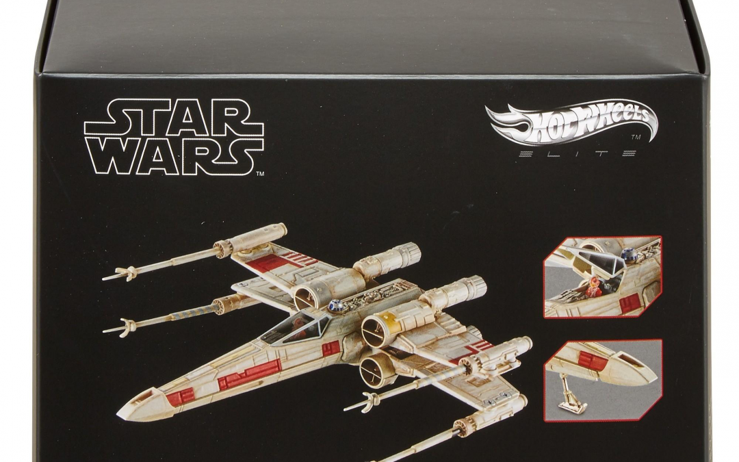 New Star Wars Hot Wheels X-Wing Red Five Starship available!