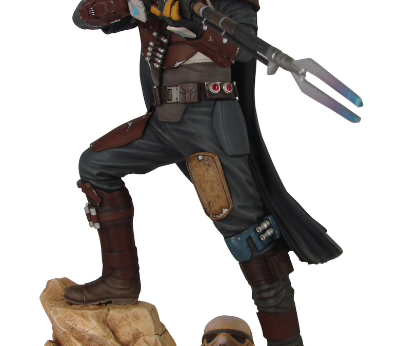 New The Mandalorian Mando Premier Collection Statue available for pre-order!