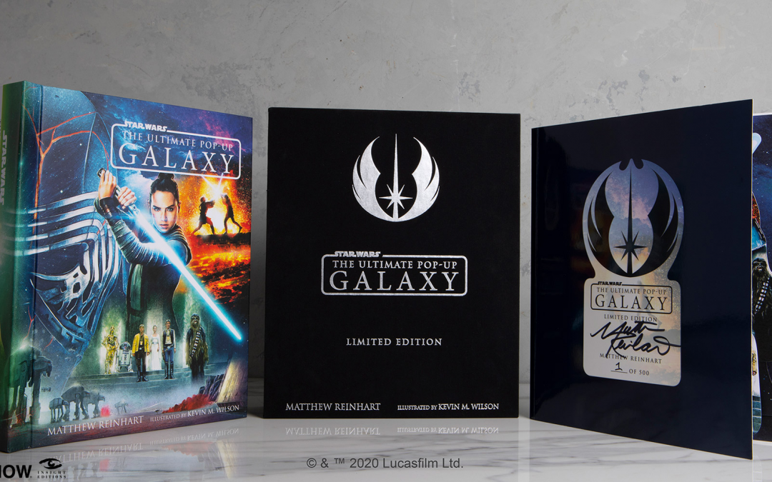 New The Ultimate Pop-Up Galaxy (Limited Edition) Book available for pre-order!