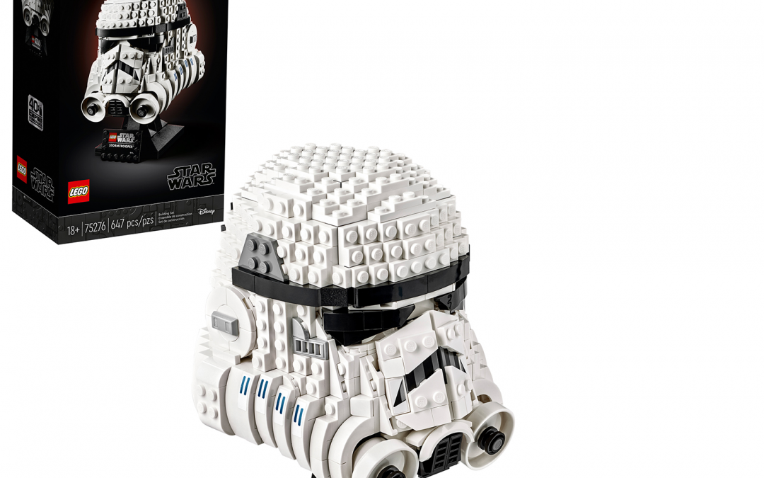 New Star Wars Stormtrooper Helmet Lego Set available!