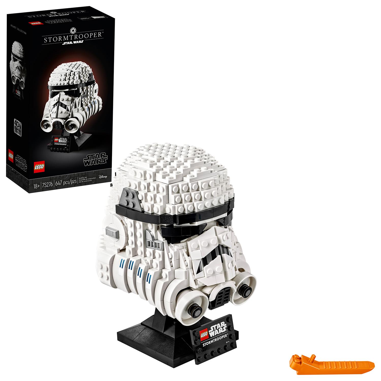 SW Imperial Stormtrooper Helmet Lego Set 1
