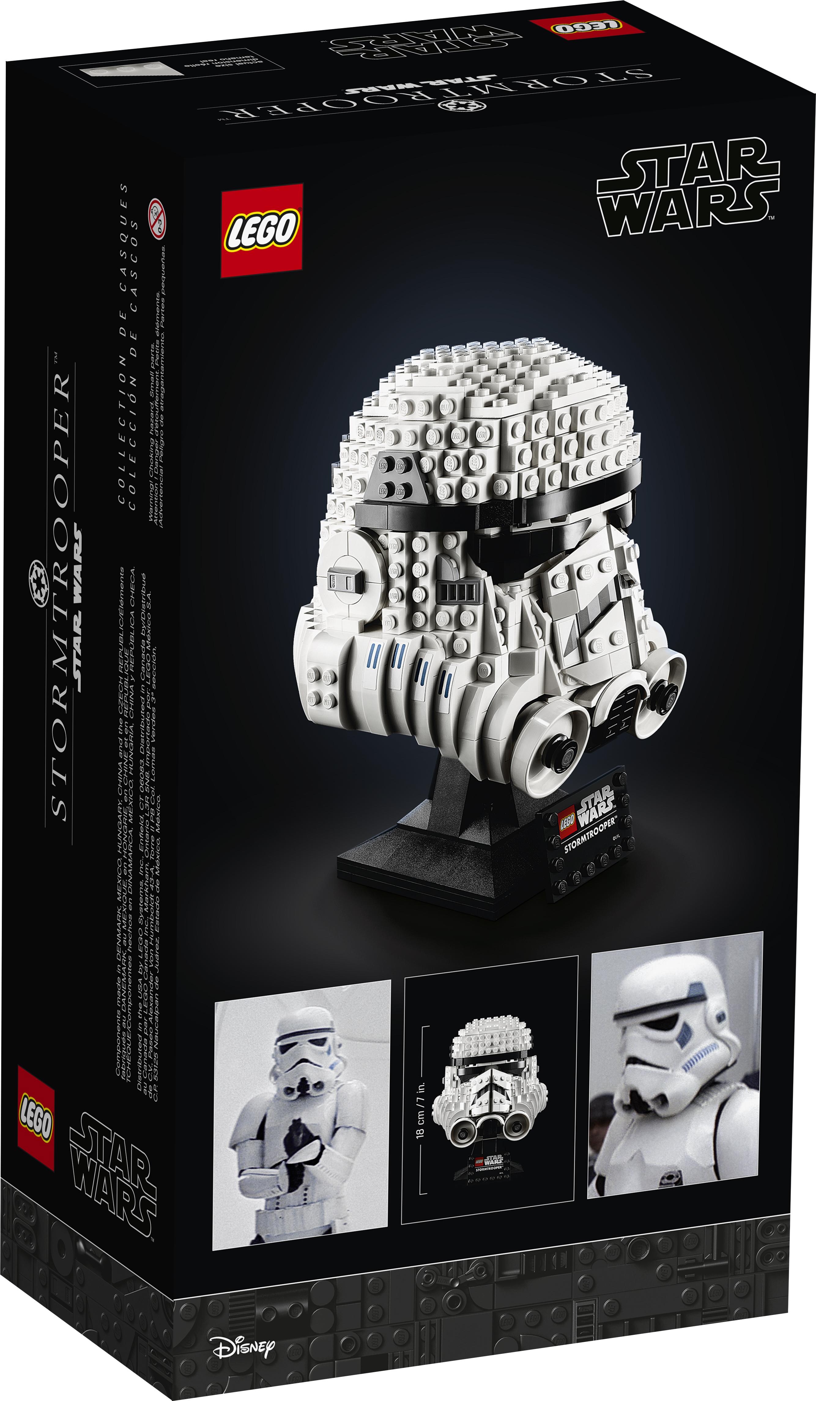 SW Imperial Stormtrooper Helmet Lego Set 2