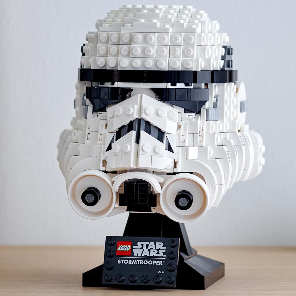 SW Imperial Stormtrooper Helmet Lego Set 3