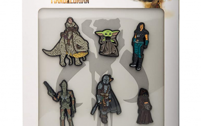 New The Mandalorian Character 6-Pin Set available now!