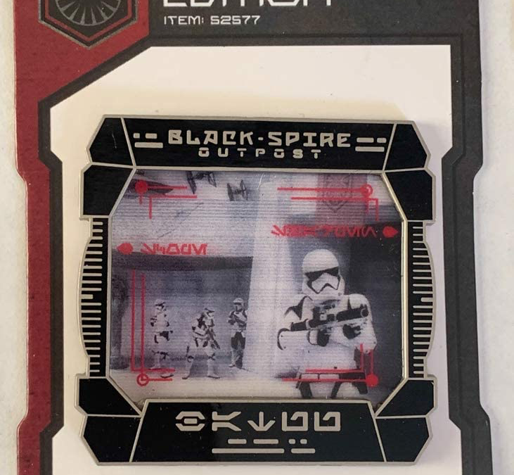 New Galaxy's Edge First Order Stormtrooper Pin available!