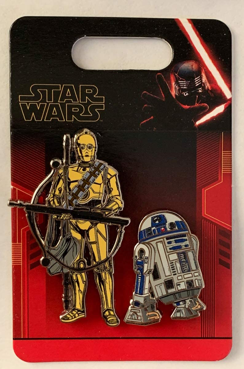 TROS C-3PO & R2-D2 2-Pin Set