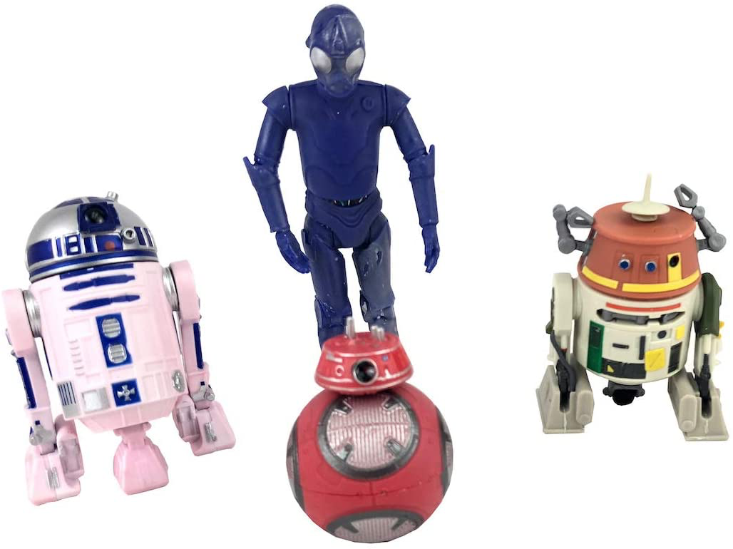 SWGE Color-Changing Droid 4-Pack (1) 3