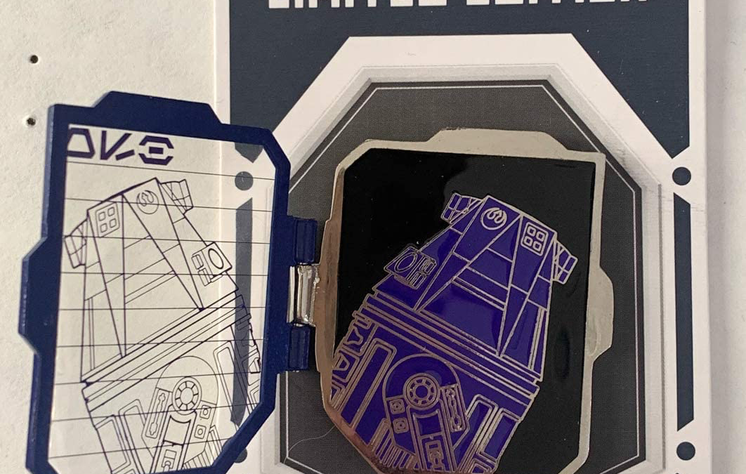 New Galaxy's Edge Purple Astromech Droid Depot Pin available!