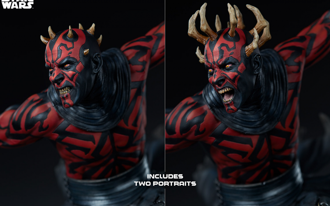 New Star Wars Darth Maul Mythos Statue available for pre-order!