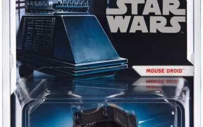 New Star Wars Mouse Droid Hot Wheels Character Car available!