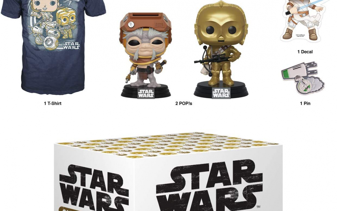 New Rise of Skywalker Funko Smuggler's Bounty Subscription Box Bundle available!