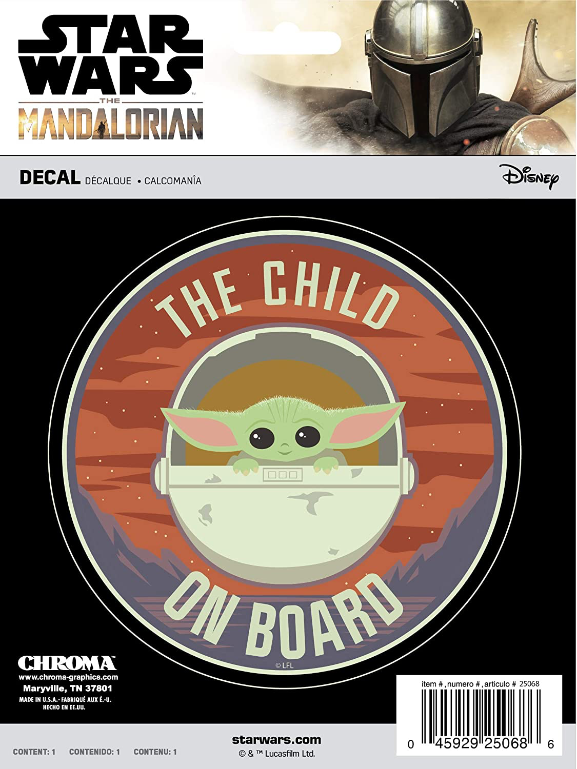 TM The Child Chroma Graphics Decal 1