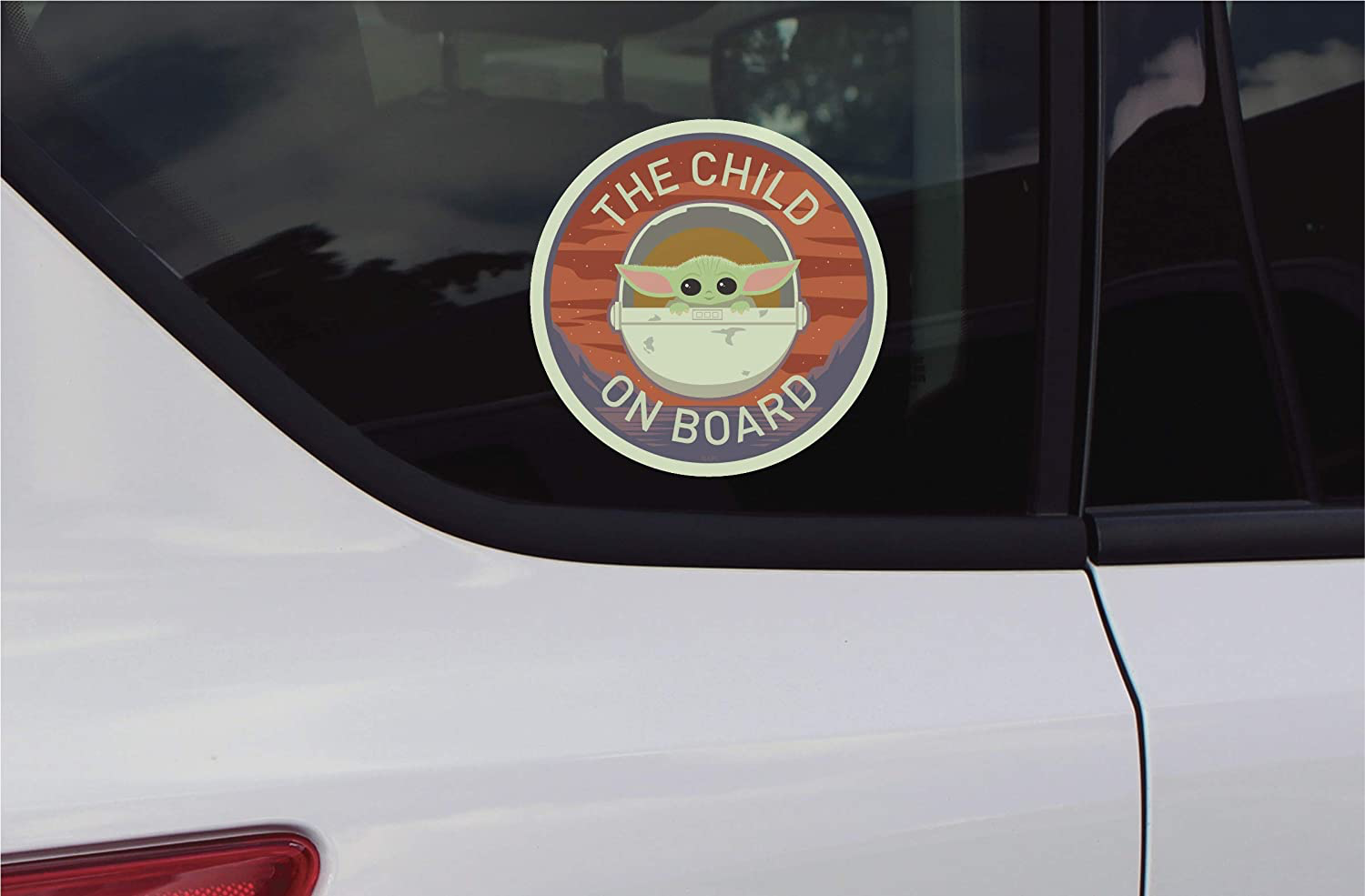 TM The Child Chroma Graphics Decal 3