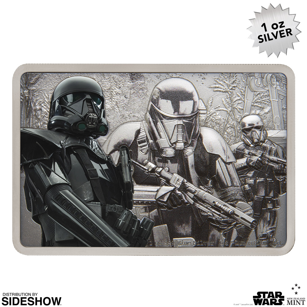RO Deathtrooper Silver Coin 6