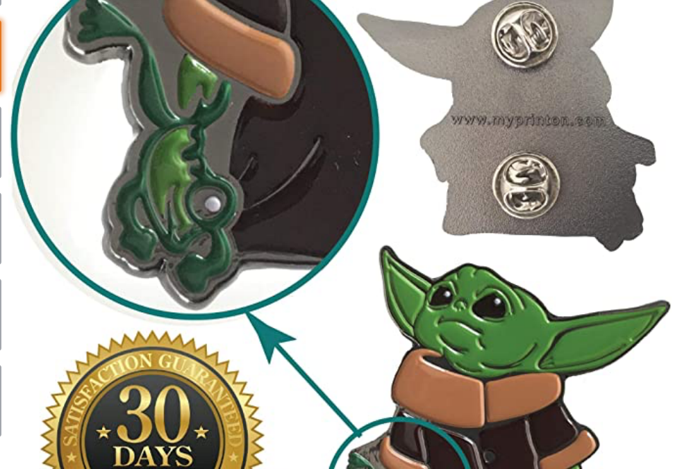 New The Mandalorian The Child (With Frog) Pin available!