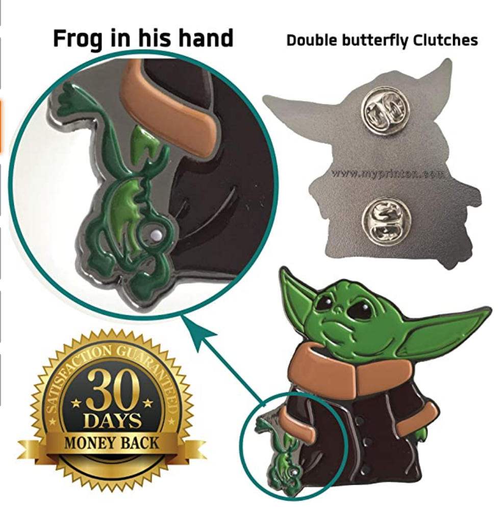 TM The Child (With Frog) Pin 1