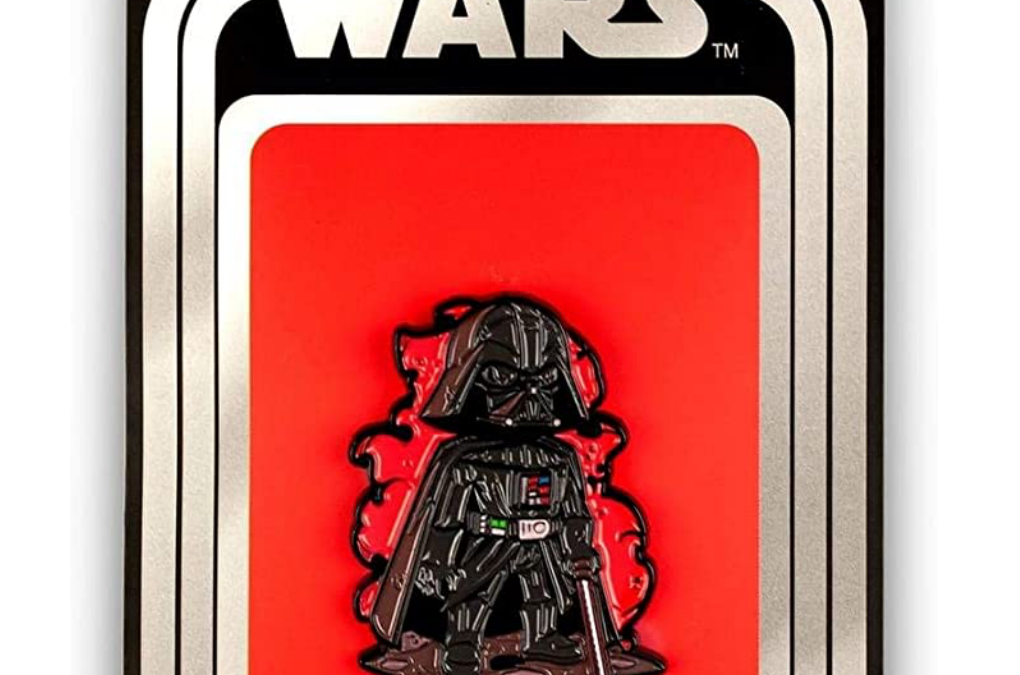 New Star Wars Darth Vader Pin available now!