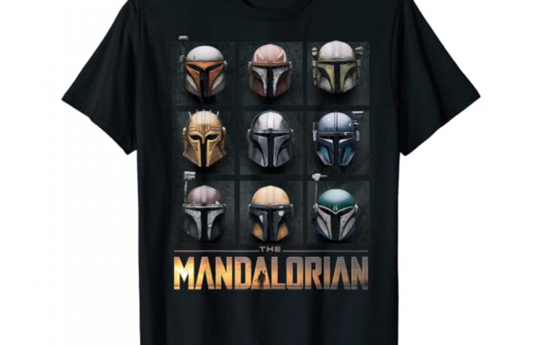 New The Mandalorian Helmet Box Up T-Shirt available now!