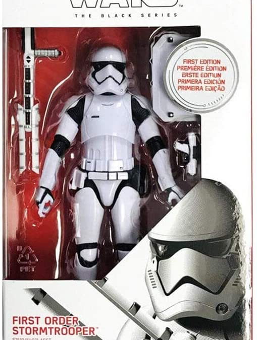 New Black Series Carbonized First Order Stormtrooper Figure available!