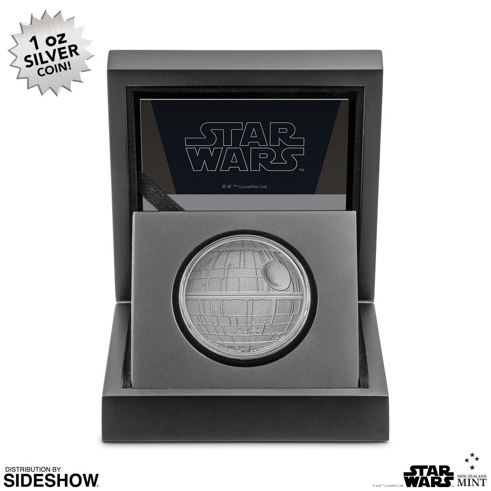 SW Death Star Silver Coin 3