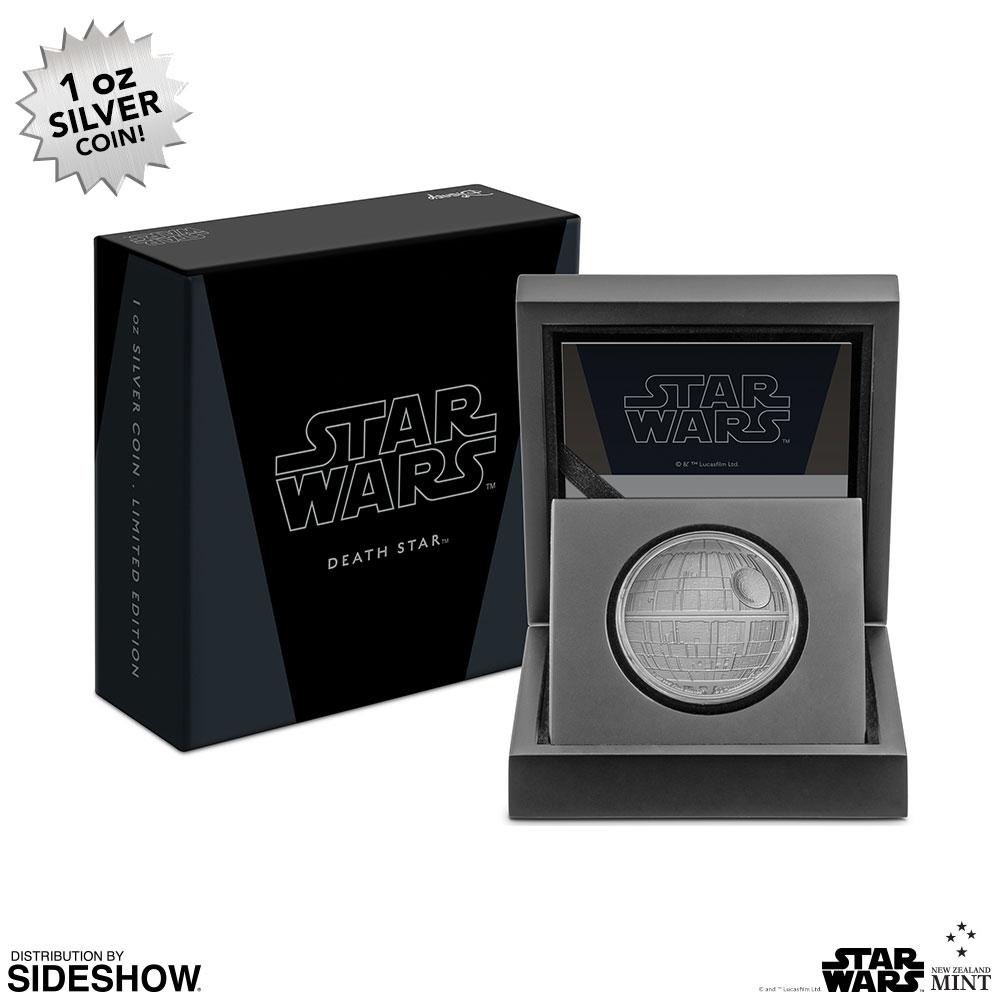 SW Death Star Silver Coin 4
