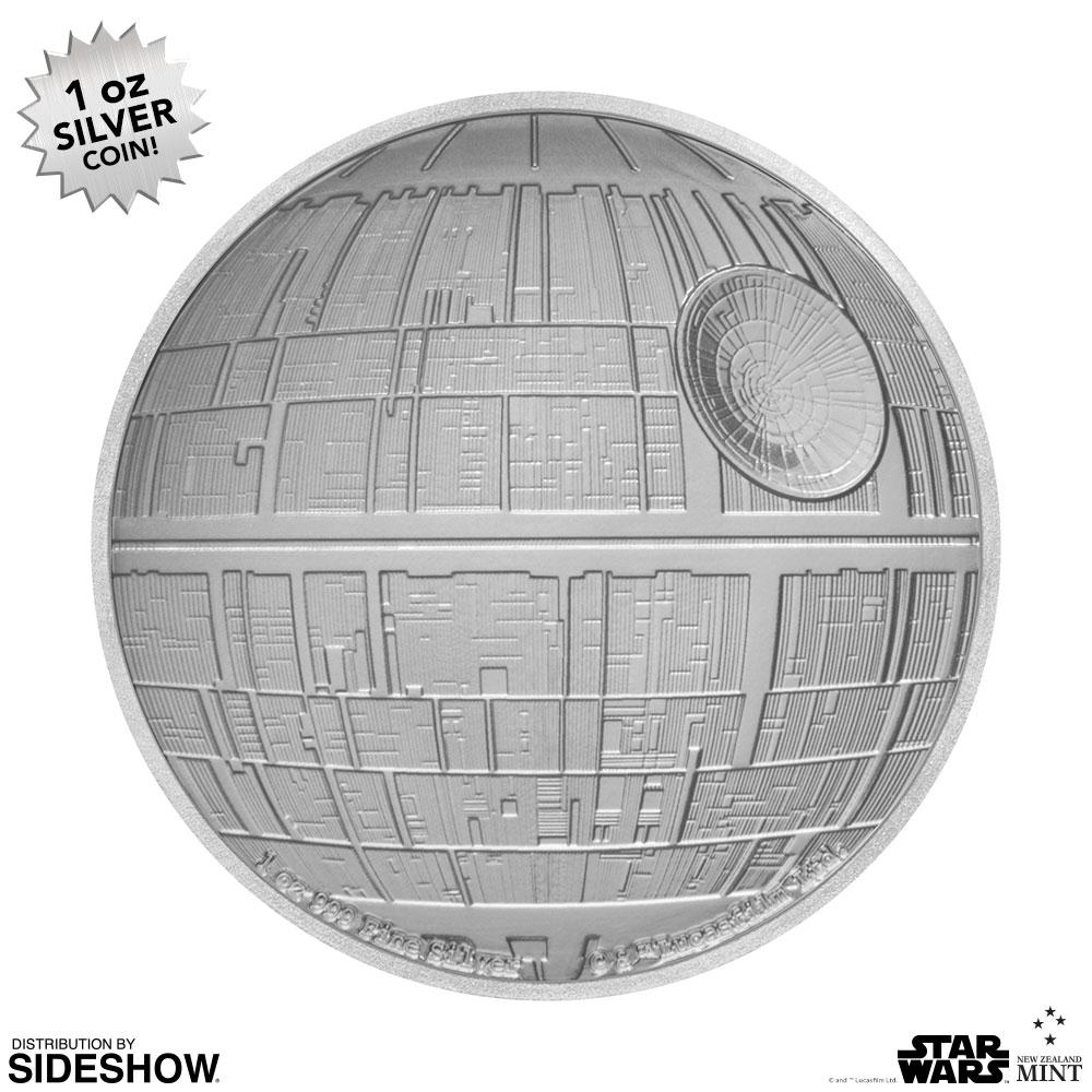 SW Death Star Silver Coin 5
