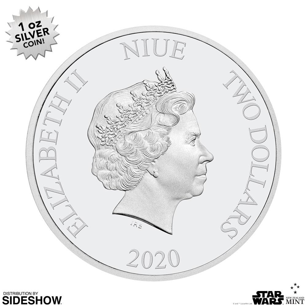 SW Death Star Silver Coin 6