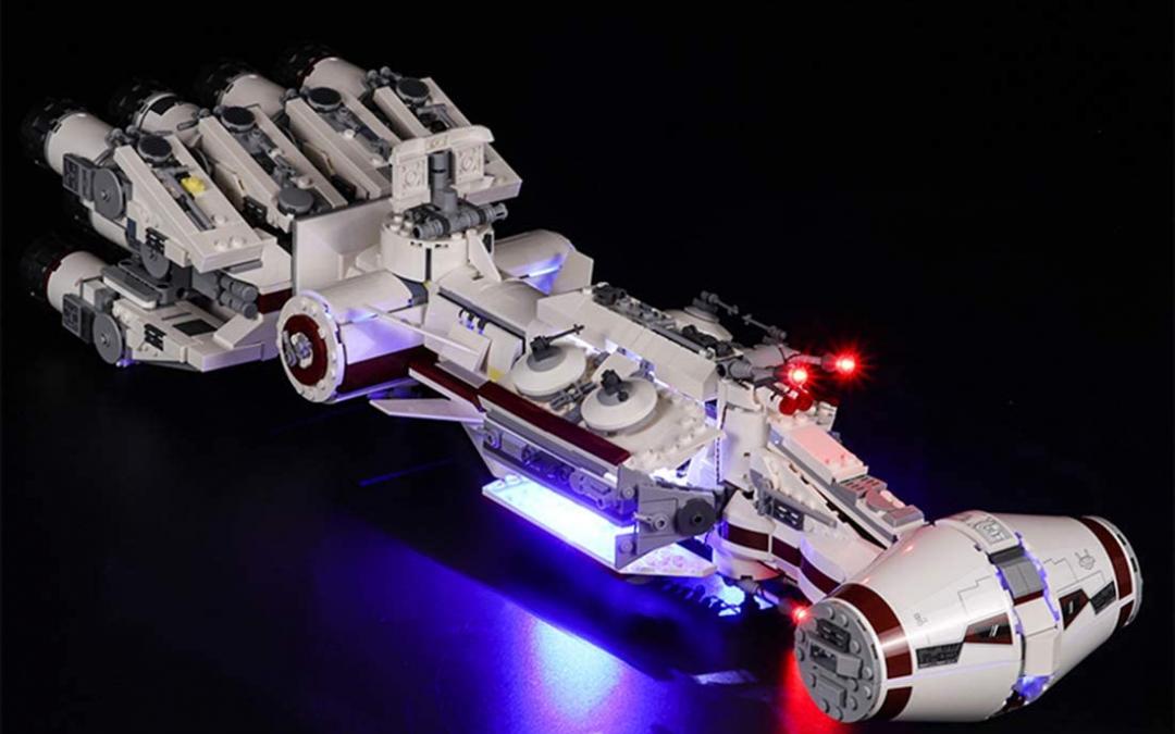New A New Hope Tantive IV LED Light Lego Set available now!
