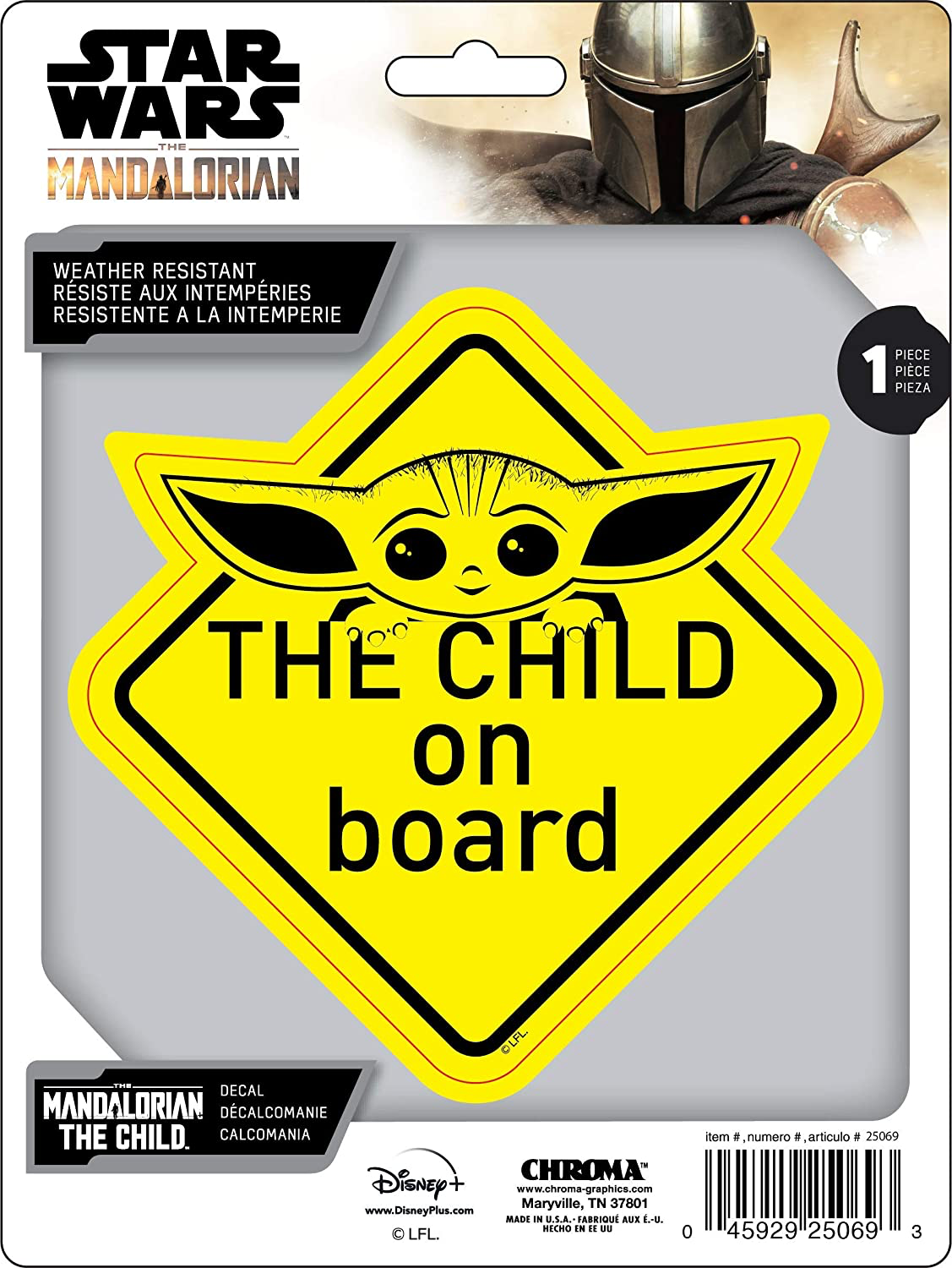 TM The Child ON Board Decal Sticker 1