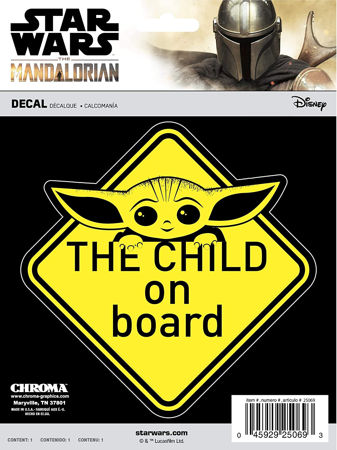 TM The Child ON Board Decal Sticker 2