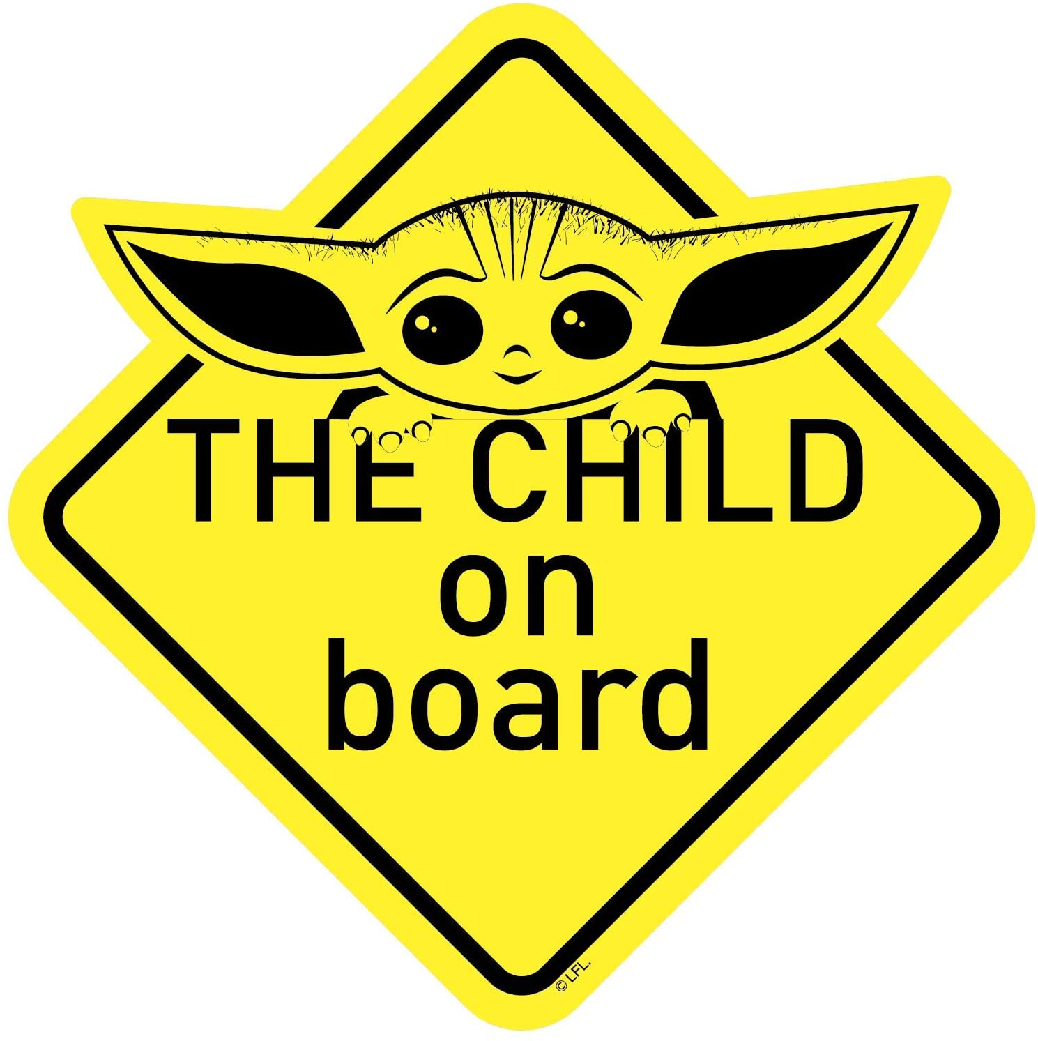 TM The Child ON Board Decal Sticker 3