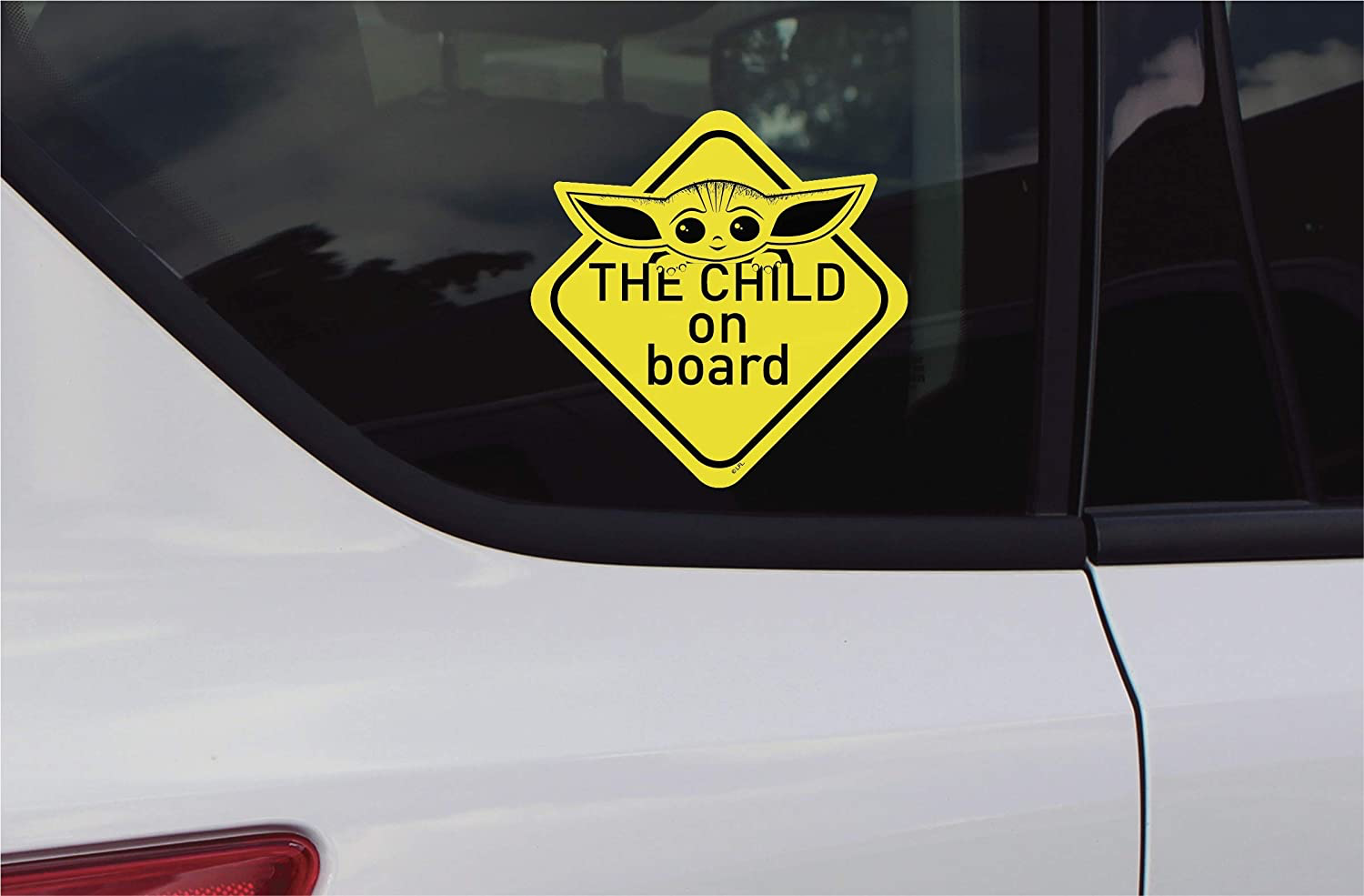 TM The Child ON Board Decal Sticker 4
